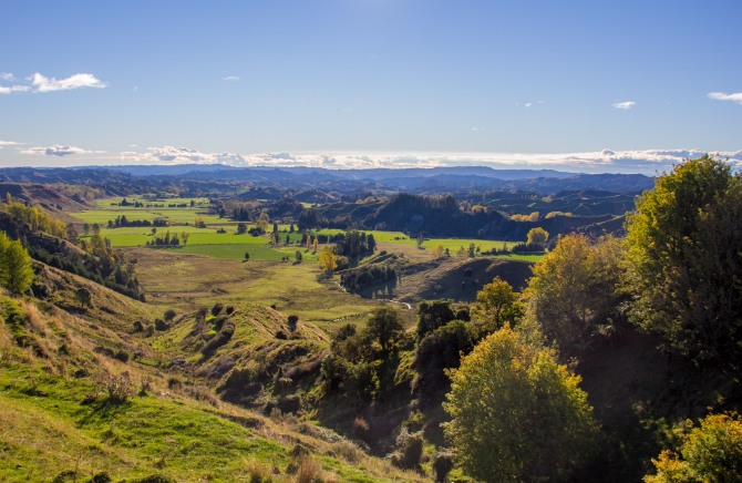 Call that a valley? This is a valley, upper Rangtikei.