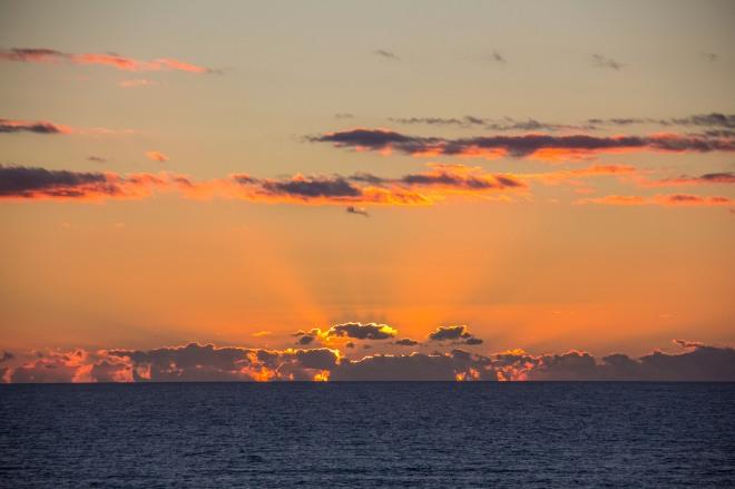 Sunset from Foxton Beach. It's the best bit of Foxton Beach.