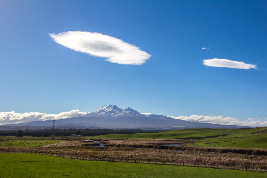 I call this Ruapehu Space ship clouds. Took me ages to think that up
