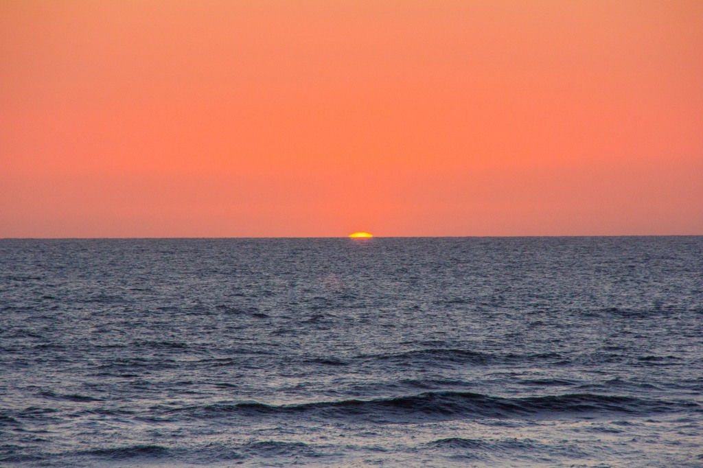 Last sighting of the Sun on a Thursday
