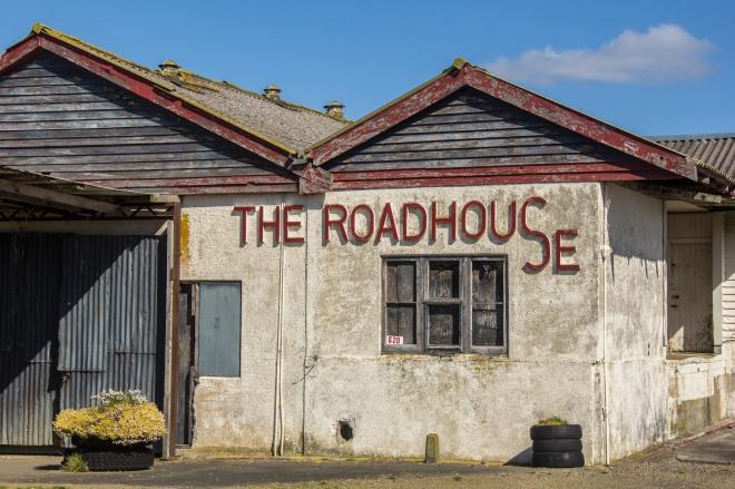 The Roadhouse, perfect Roadhouse blues setting. Middle of nowhere Manawatu