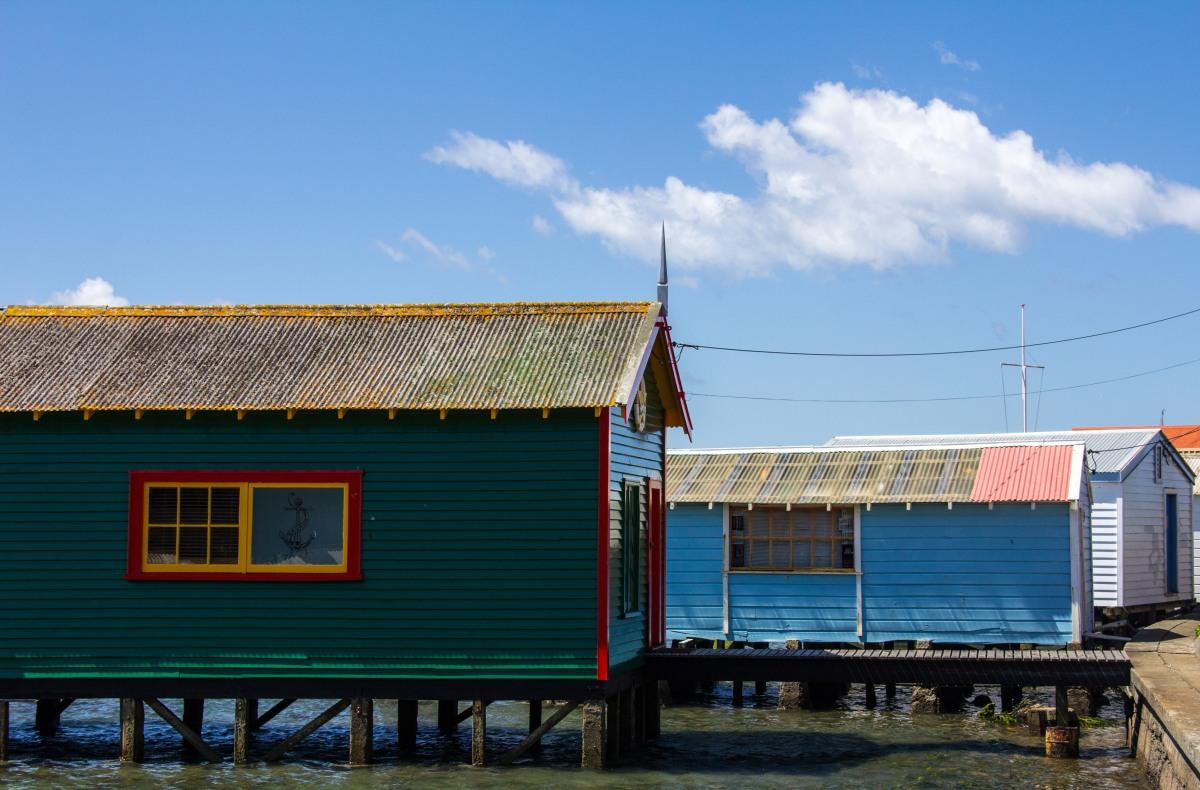 Boat Sheds Evans Bay
