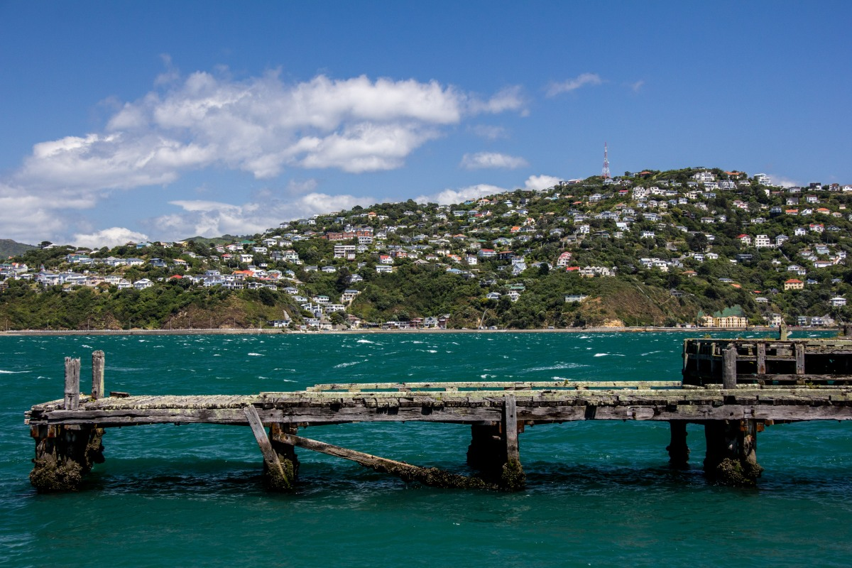 Worser Bay jetty
