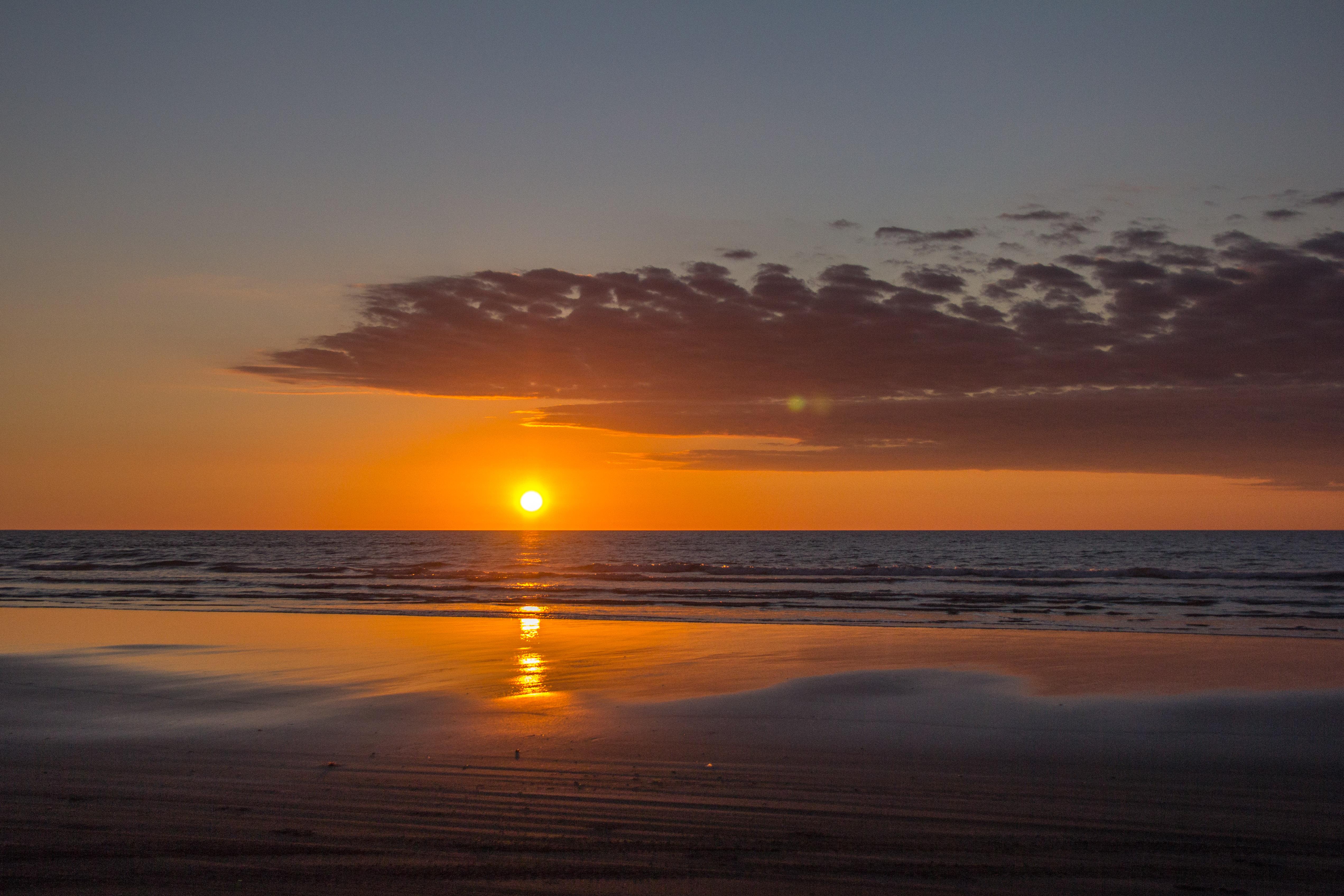 Himi Beach sunset