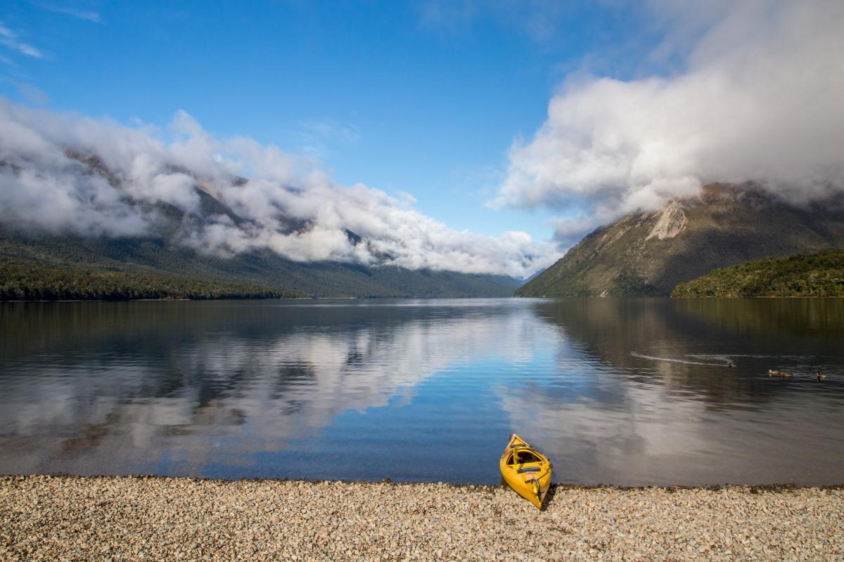 Lake Rotoiti kayak