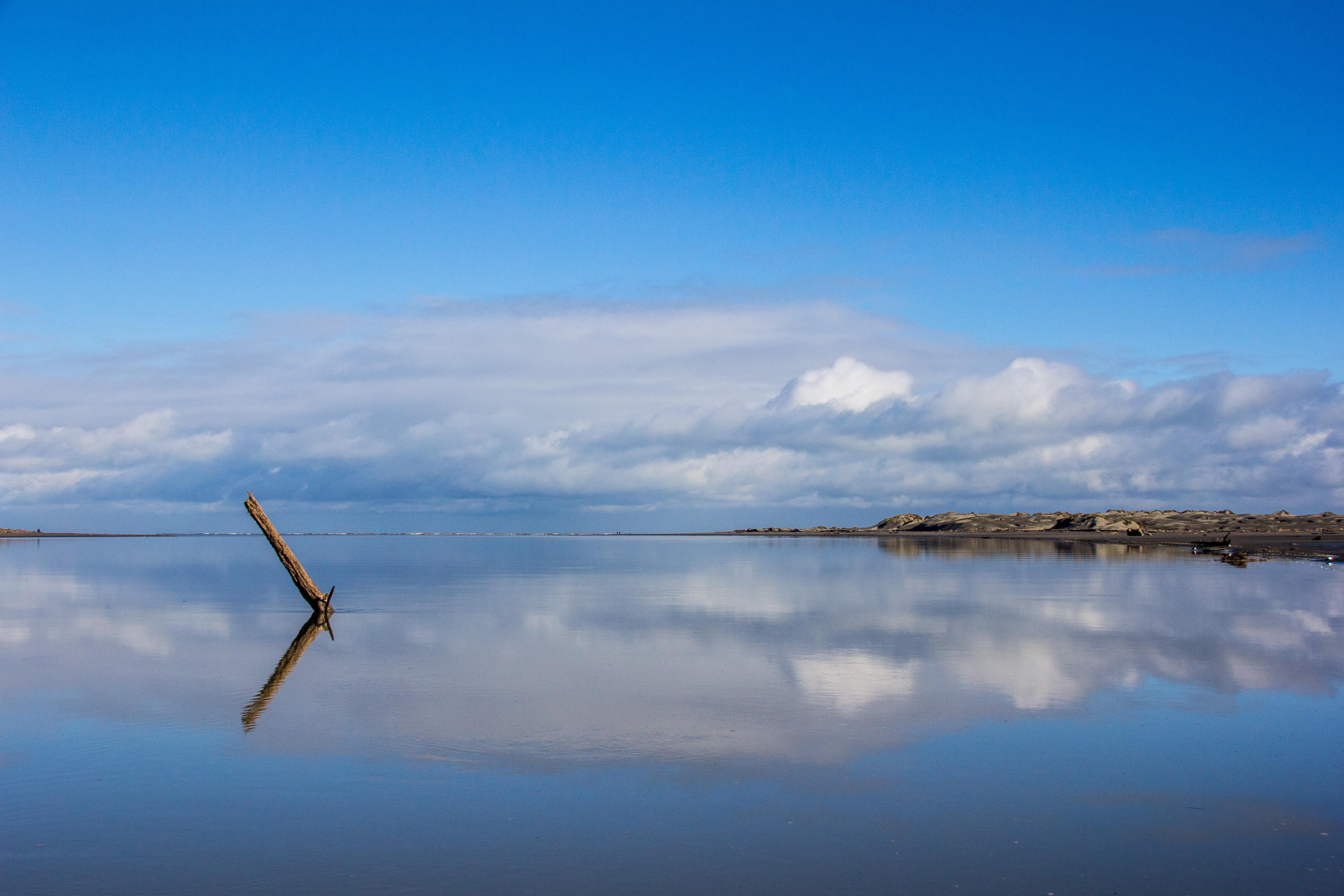 Manawatu River reflection
