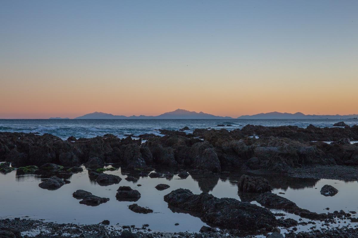 South Island dusk