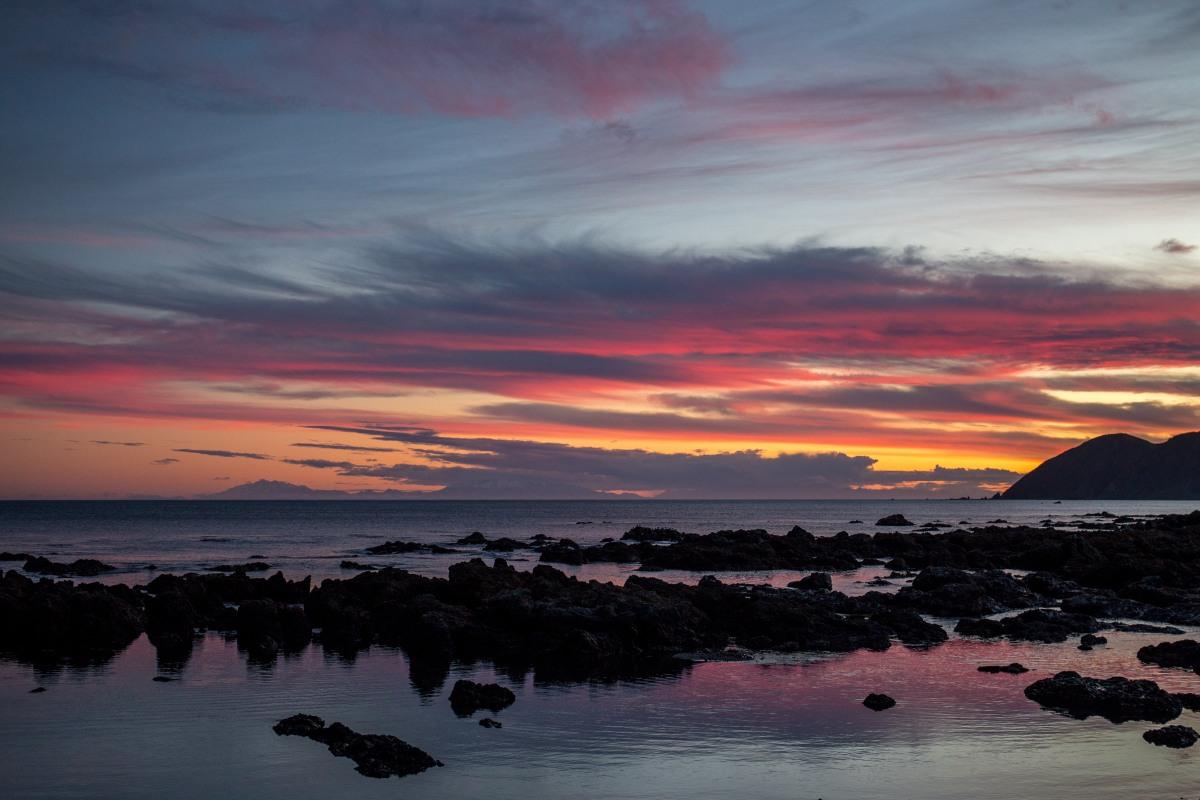 island-bay-sunset