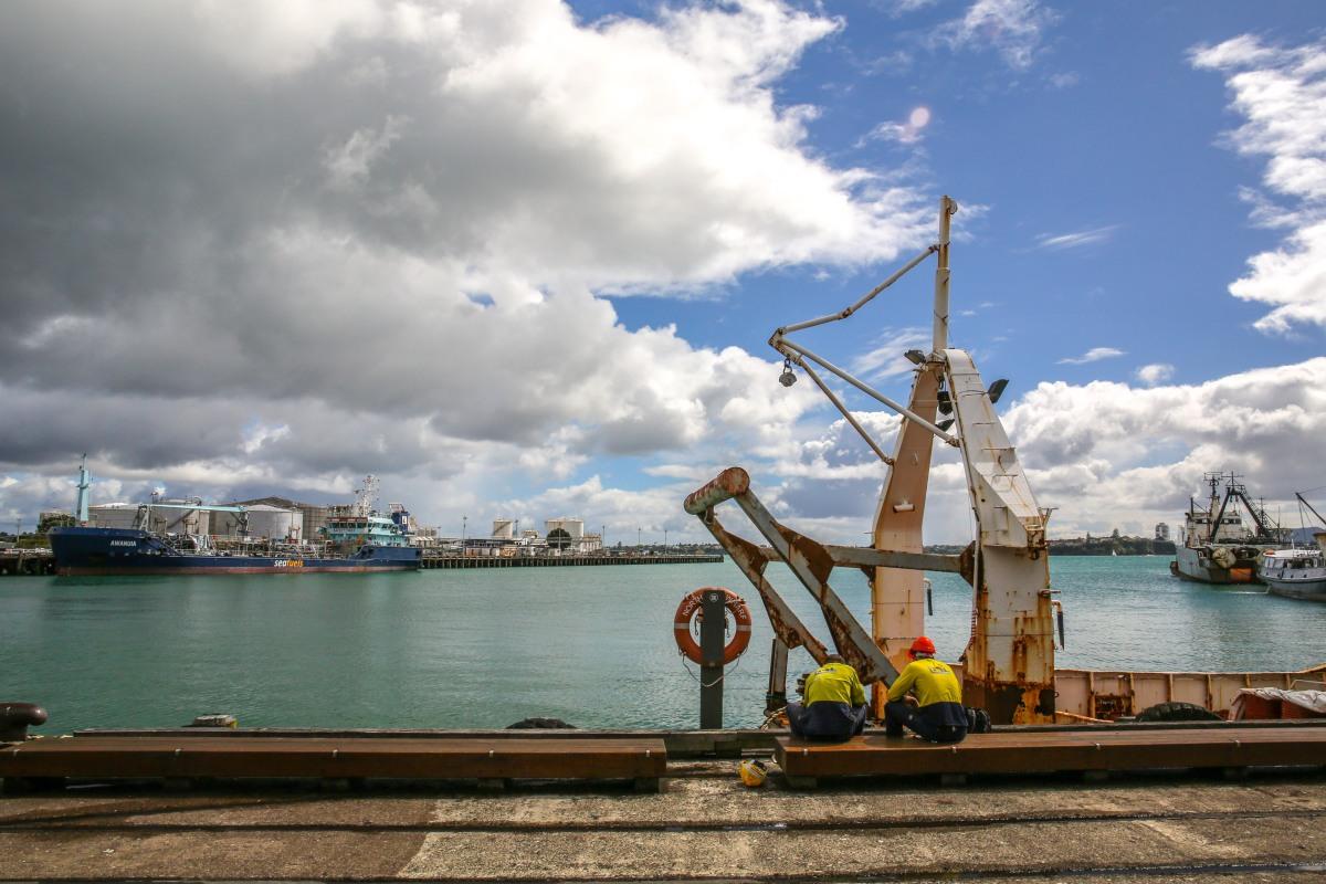 wharf-work