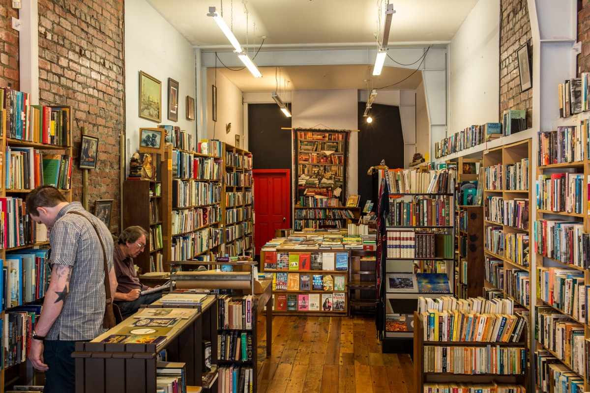 Cuba bookshop