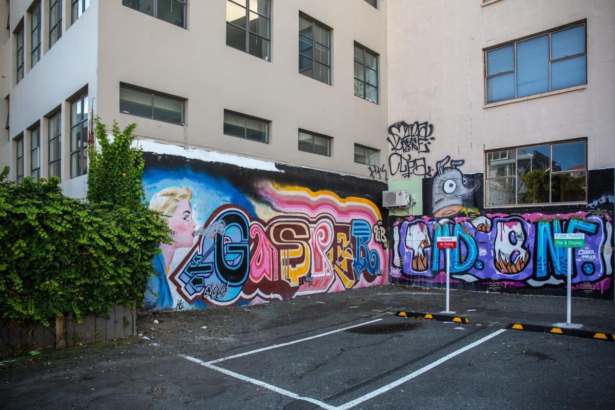 Cuba Corner graffiti