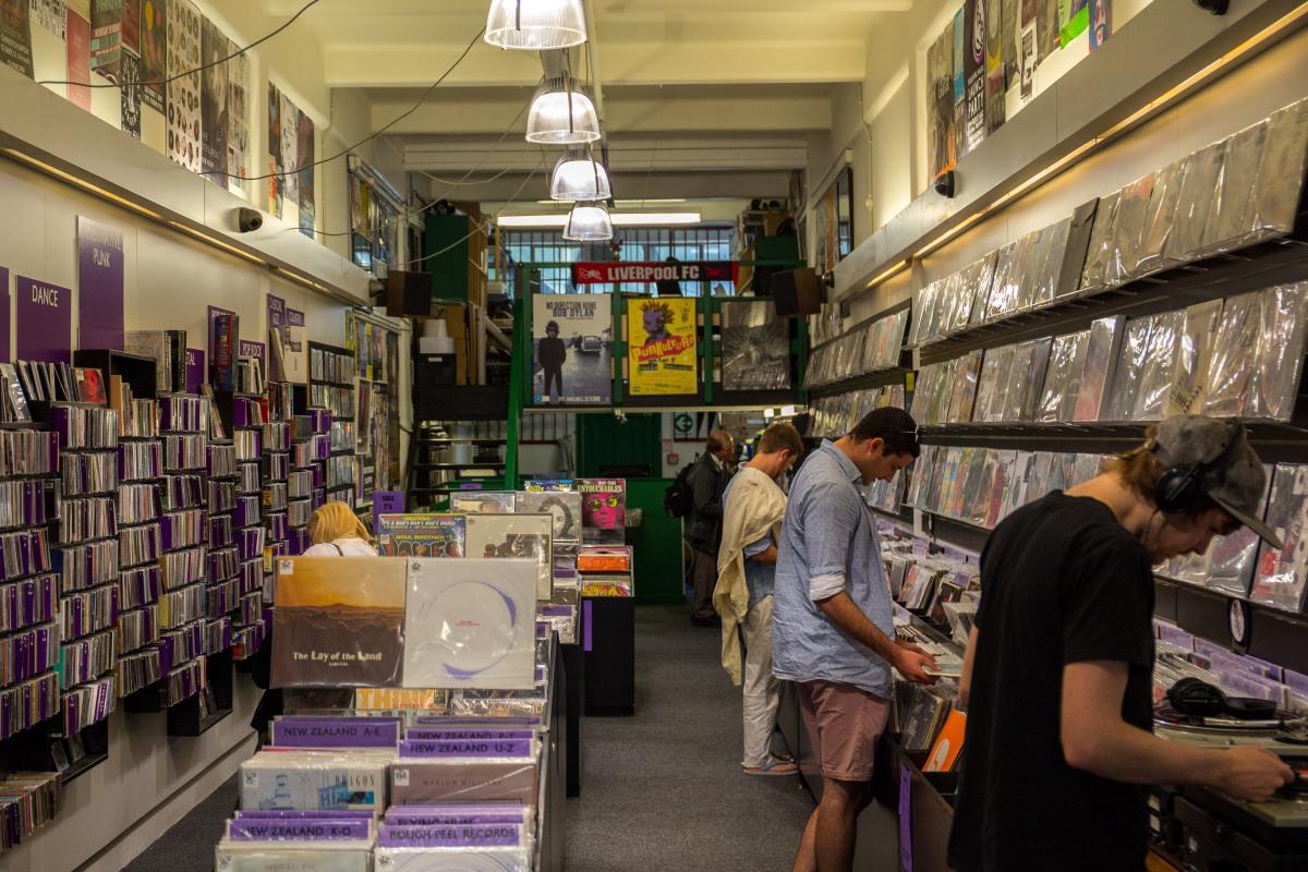 Cuba record shop