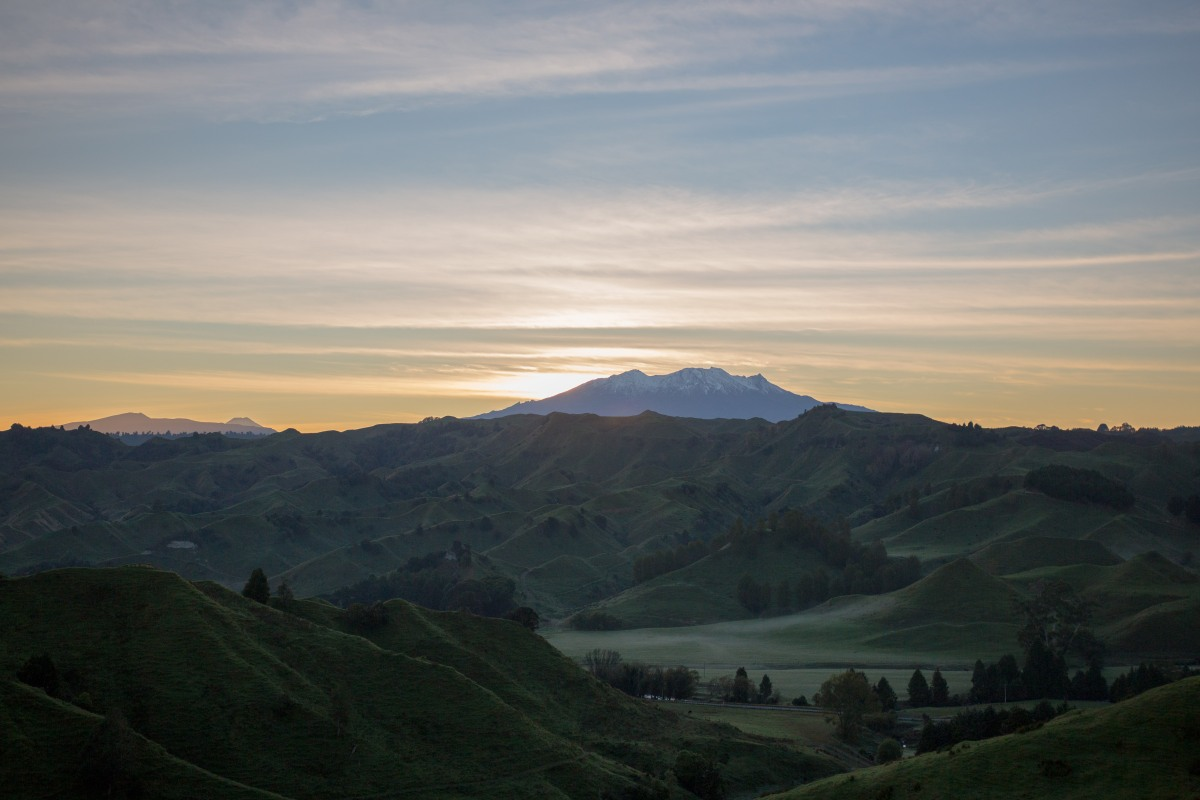 Ruapehu Sunrise