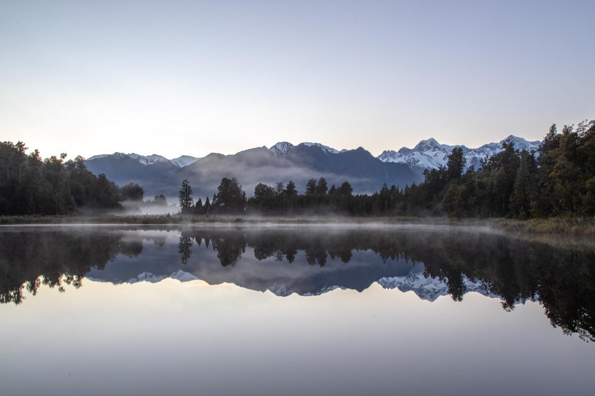 Lake Matheson Mist