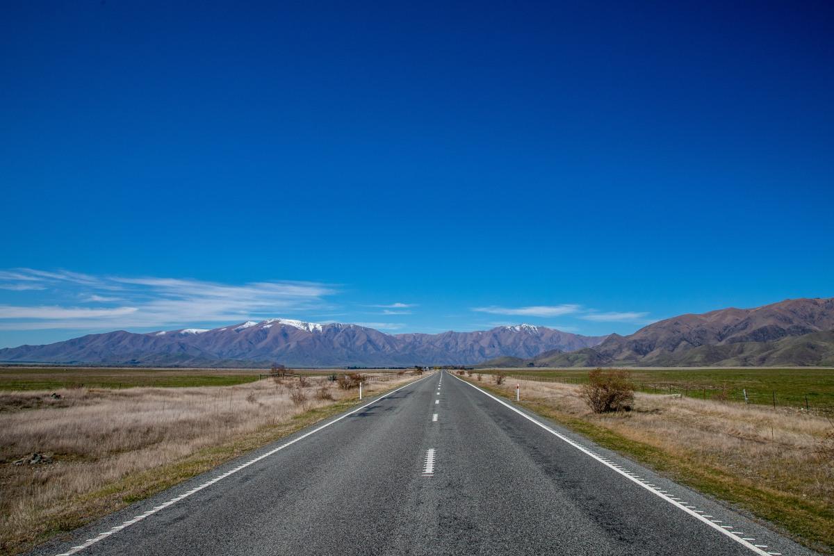 Road through Mackenzie